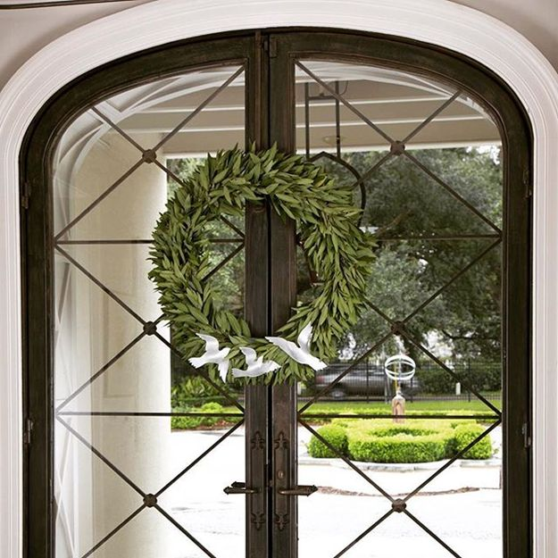 French Door Windows Part - 41: Arched Metal And Glass Front Door