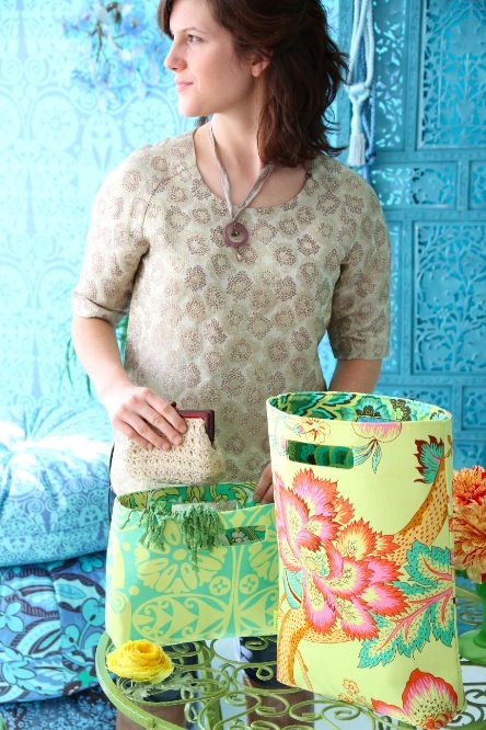 Amy Butler's Soul Blossoms Fabrics with The Chelsea Bag