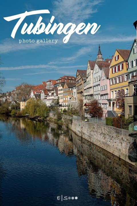 a photo gallery of tubingen germany