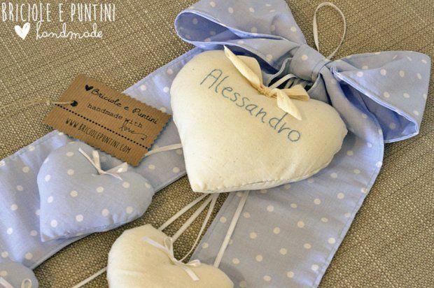 fiocco nascita bimbo fatto a mano verdecannella.blogspot.it
