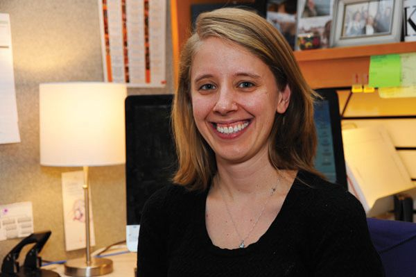 Katie Lewis is a genetic counselor and research coordinator at NIH's -  National Human Genome Research Institute (NHGRI).