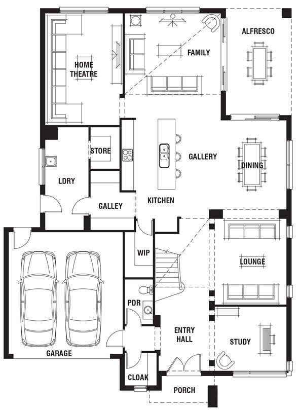 House Design Waldorf Grange Porter Davis Homes Decor