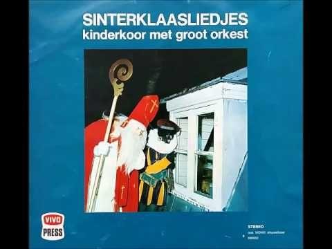 Sinterklaas liedjes kinderkoor met groot orkest