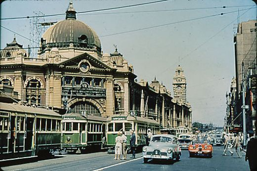melbourne in the 1950s