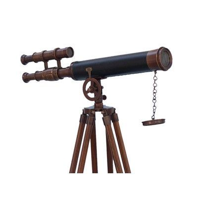 Handcrafted Nautical Decor Griffith Astro Refracting Telescope Finish: Bronze