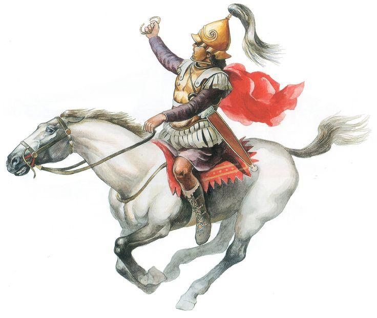 After Alexander Macedonian Calvary officer