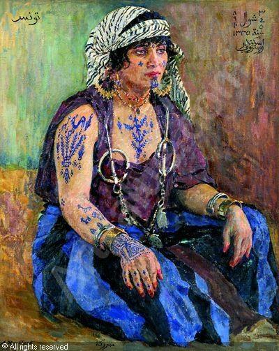 Alexandre Roubtzoff, 1917, Mabrouka