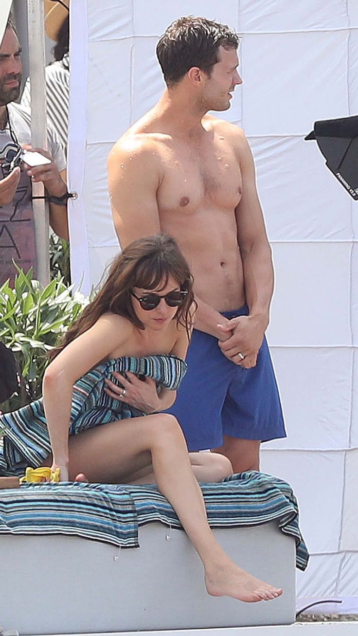 Dakota Johnson and Jamie Dornan                              …