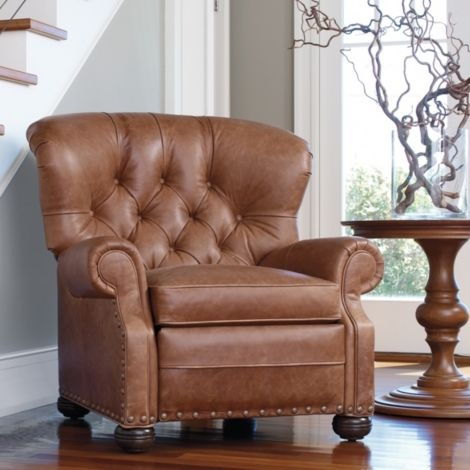 Unique Buy Ethan Allen s Cromwell Leather Recliner or browse other products in Recliners Photos - New power reclining sofa Modern