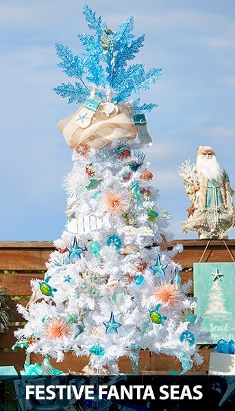 beach christmas decor galore at bealls coastal christmas decor pinterest beach christmas coastal christmas and christmas