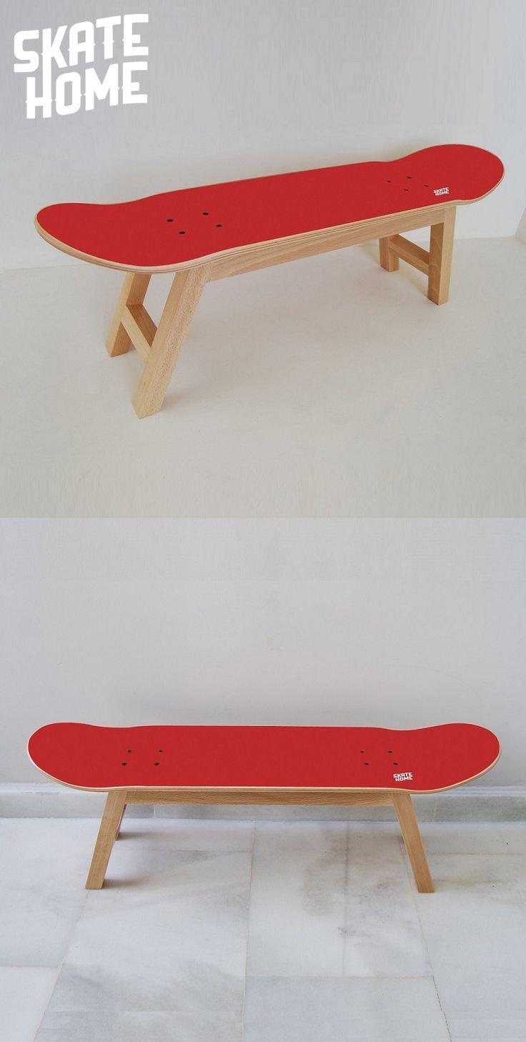 Gift for skateboarders - Skateboard chair - Decoration Bedroom for boy
