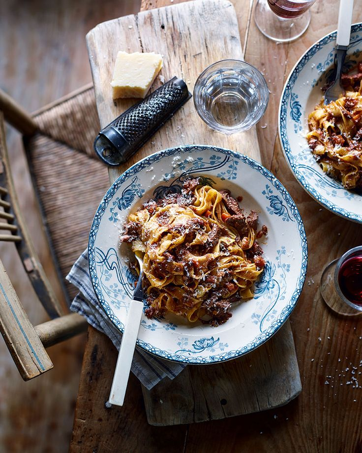 Jacob Kenedy's ragù recipe is made from venison and pancetta simmered down with red wine – the perfect dinner party main to impress your friends.