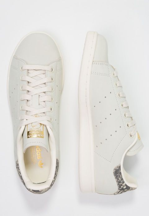 STAN SMITH - Trainers - offwhite/gold metallic @ Zalando.de ...