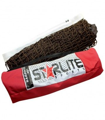 Badminton Net Color Availability :Brown Size : Standard  Type :Sports