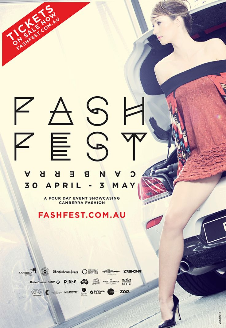 "Checkout ""All eyes on Us"" design on @FASHFEST Canberra  2014 promo poster."