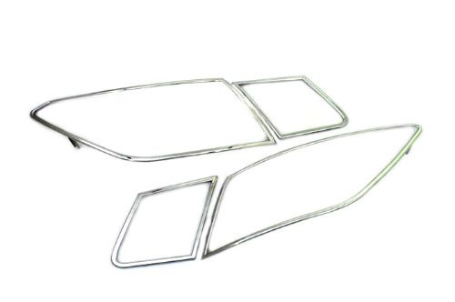 Car Accessories Chrome Tail Light Cover for Mercedes Benz