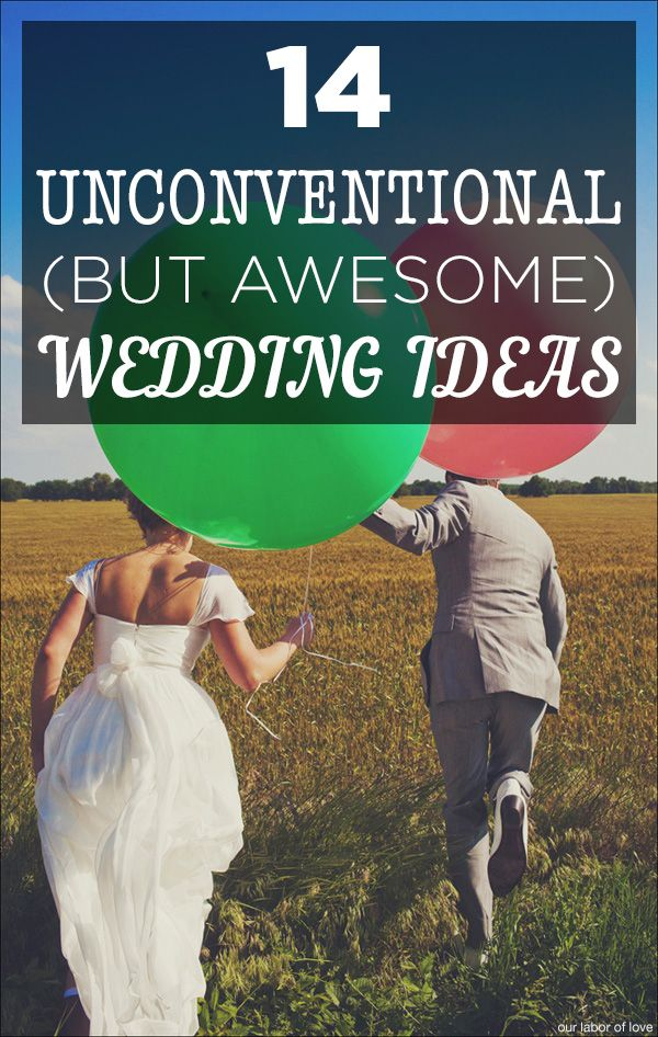 These amazing ideas will make your wedding SO fun! Pin now, read later!