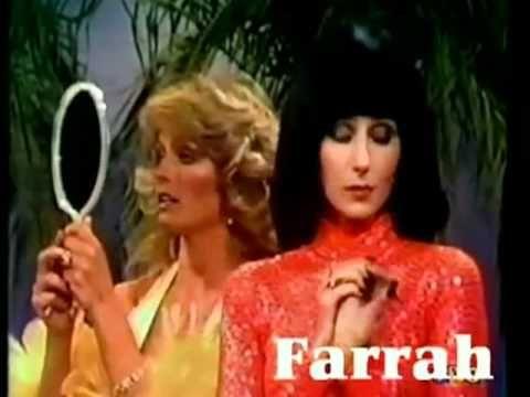 "Farrah Fawcett and Cher - the ""Sonny & Cher Show"" 1977"