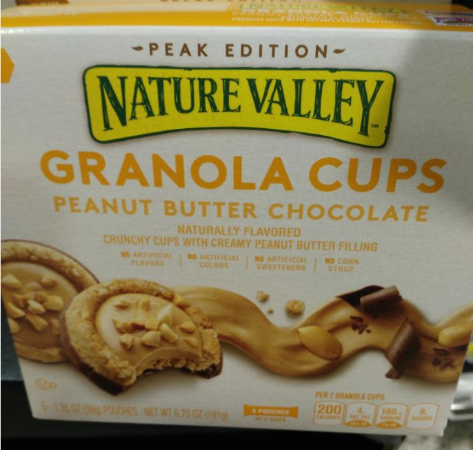 Nature Valley Granola Cups Peanut Butter Chocolate | Packaged Cookies & Crackers | Pinterest ...