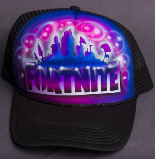 a0a51084319 shop fortnite snapback hat online with custom gamer tag and airbrush  artwork.  fortnite  airbrush
