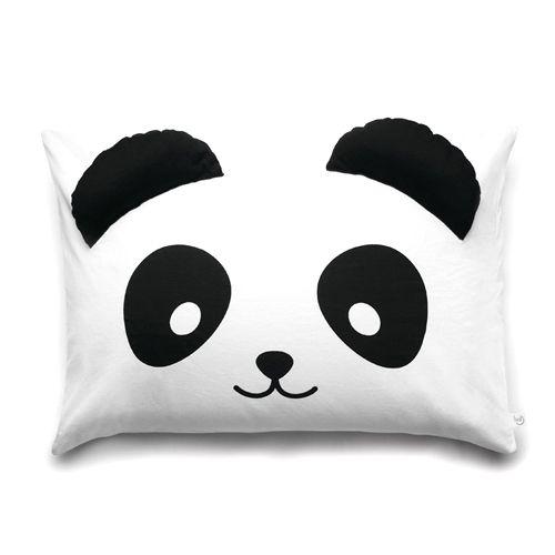 Panda pillow case