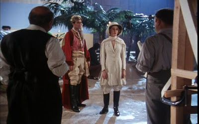 Pith helmet and veil - Niamh Cusack in The King of Clubs