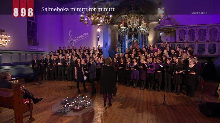Salmeboka minutt for minutt. På NRK.no kan du høre alle de 899 salmene om igjen.