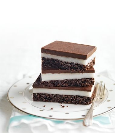 Chocolate-Peppermint Slice - MindFood