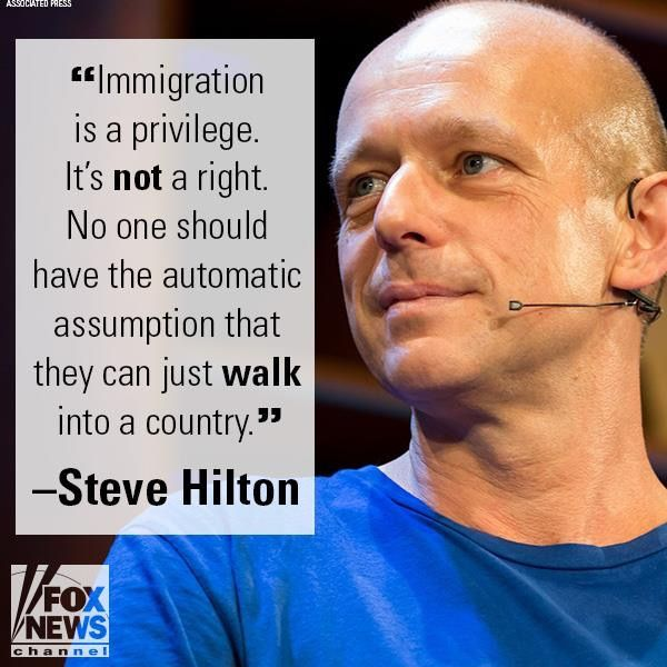Immigration is a privilege, not a right