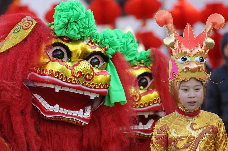 Celebração do Ano-Novo Chinês em Pequim