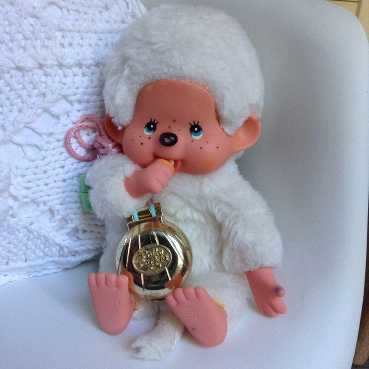 Kiki le vrai blanc Ajena collection. Made In France ° Mo0mins ° Polly Pocket.