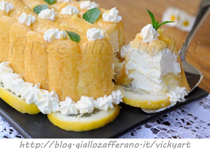Semifreddo al limone con pavesini dolce veloce vickyart arte in cucina