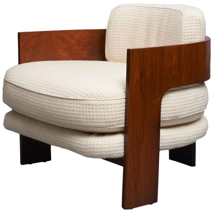 Mid Century Modern Milo Baughman for Thayer Coggin Low Club Chair | eBay