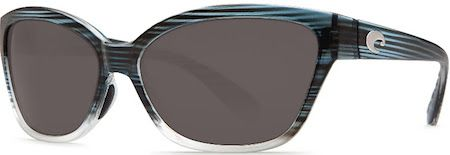 Costa Launches New Shades Of The Sea; Costa's Starfish in topaz fade frame color with gray 580P lens.