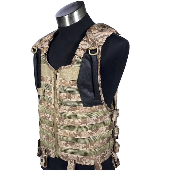(121.50$)  Watch more here  -  In stock FLYYE genuine MOLLE  Delta Tactical Vest  Military Tactical Vest VT-C013