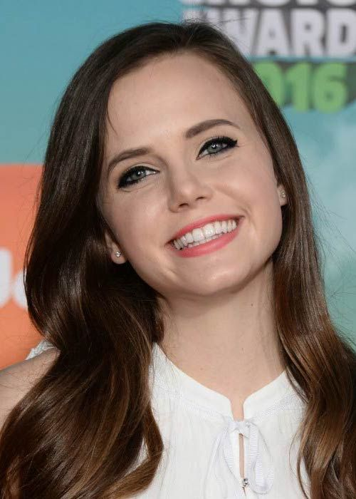 Tiffany Alvord at the Nickelodeon's Kids' Choice Awards in March 2016....
