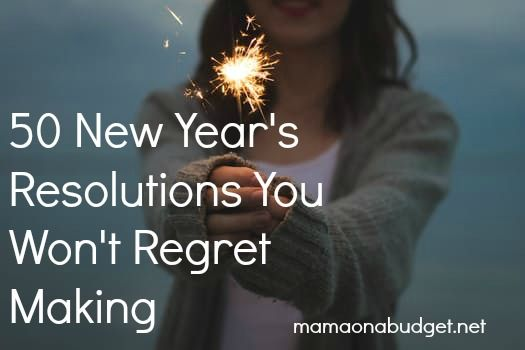 50 New Year's resolutions you won't regret making