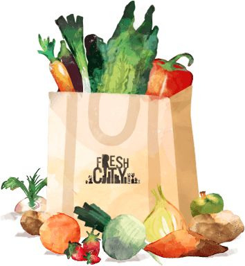 Organic grocery & meal delivery   Local food from Toronto to you   Fresh City