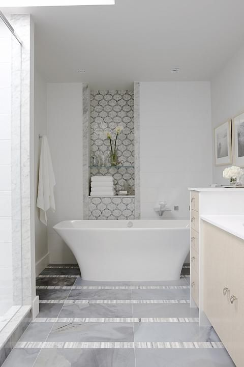 sarah richardson sarah 101 neutral master ensuite freestanding bathtub