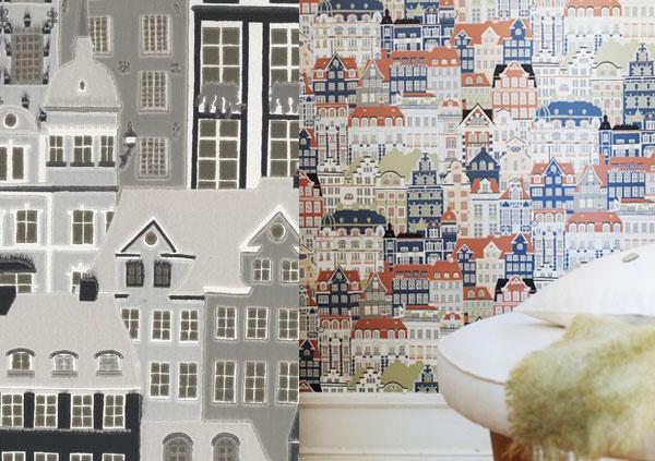 Sandberg wallpaper metropolis