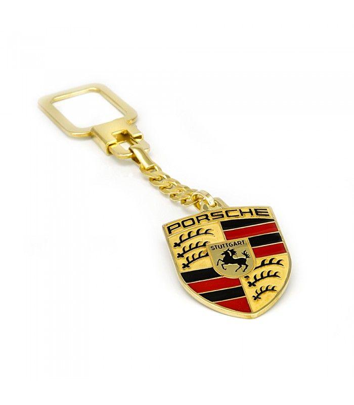 Llavero de plata de 925ml escudo de Porsche - Subastas Regent's   Joyas y Antigüedades