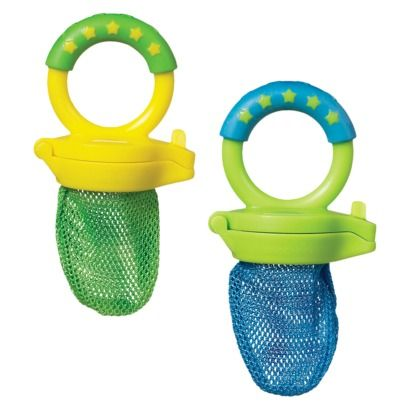 LOVED these things when my son was teething. Pop in some frozen fruit & he was happy! Great for keeping him occupied at restaurants too.