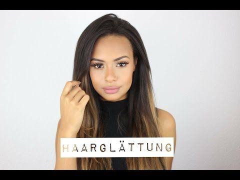 Meine Haarglättung by Jahy.C DAUERHAFTE GLÄTTUNG - YouTube