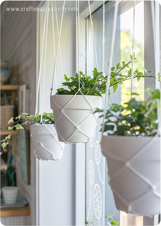 These DIY Macramé Hanging Planters Look Straight Out of an Anthropologie Catalog | PopSugar