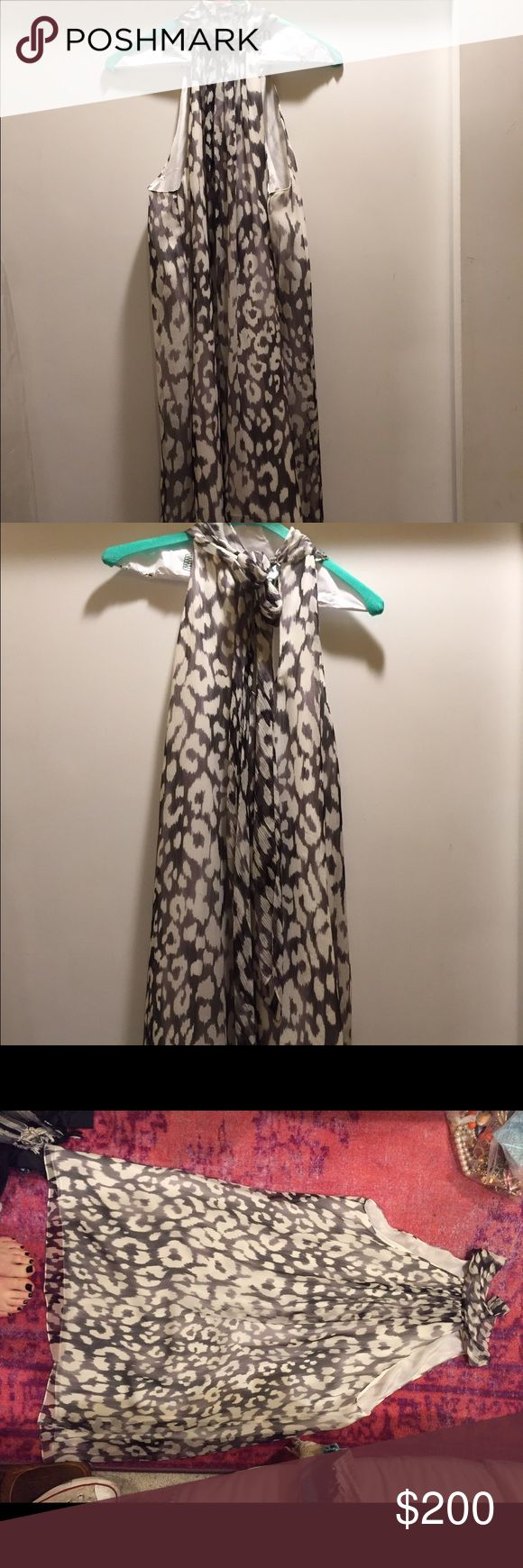 Ramy Brook Mew York Dress Leopard Gently Used Ramy Brook New York Dress Leopard Gently Used - in great condition! Only worn a couple times! Ramy Brook Dresses Wedding