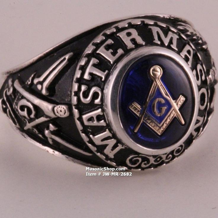 Class Style Master Mason Ring