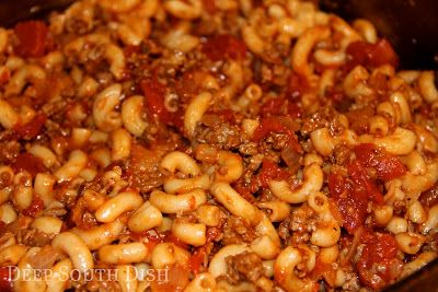 Deep South Dish: Basic Ground Beef American Goulash
