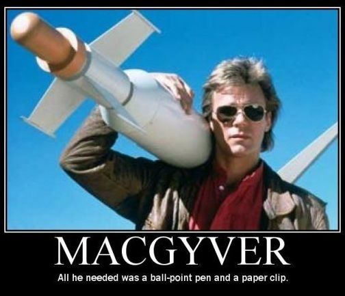 Your Dad - will be - MacGyver with a Victorinox. Need I say more?