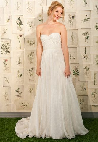 "For Sale: Excellent condition Ivy & Aster ""Sweet Pea"" wedding dress, Size 8.  Professional alterations: bust taken in slightly and shortened to fit up to 5' 5"".   $1500"