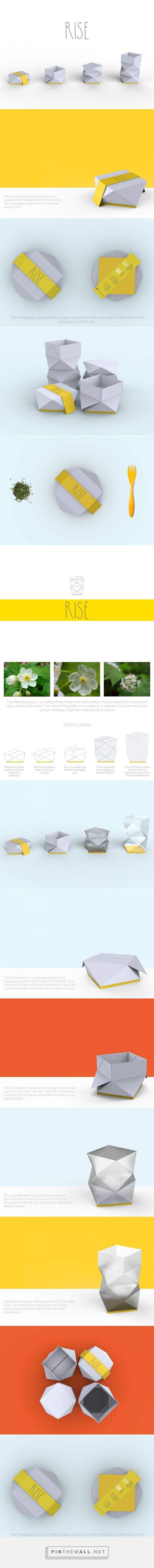 RISE (Student Project) - Packaging of the World - Creative Package Design Gallery - http://www.packagingoftheworld.com/2017/02/rise-student-project.html